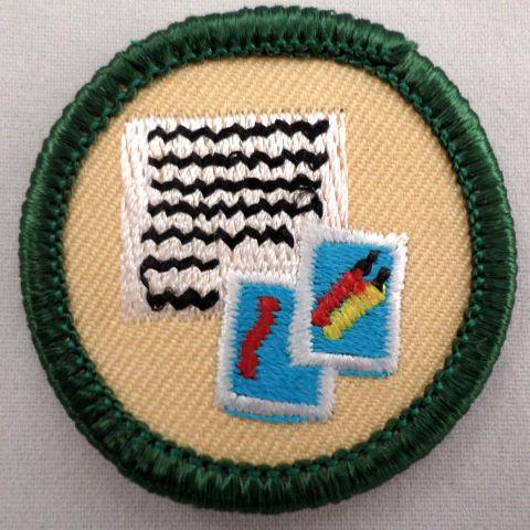 Girl Scout Gs Uniform Patch Communication Letter Writing Photos #Gsgr