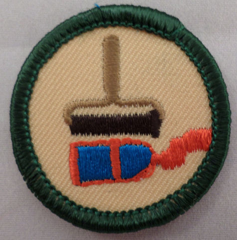 Girl Scout Gs Uniform Patch Prints And Graphics Ink Roller Paint #Gsgr