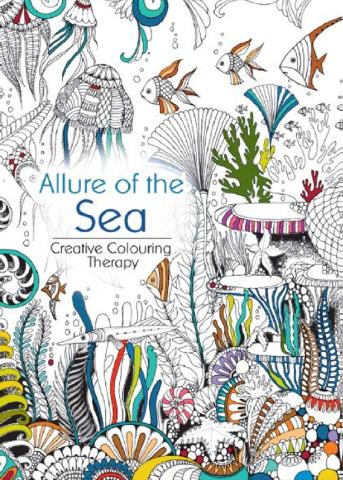 Oceanis Adult And Teen Coloring Book Allure Of The Sea Ocean