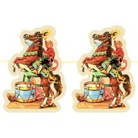 Shackman Rodeo Circus Inspired Party Garland Featuring Cowboy & Horse #Shk-22