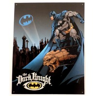 "Batman Bat Dark Knight 12.5"" X 16"" Comic Book Tin Sign Dc Comics #1356"