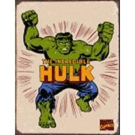 "The Hulk Retro 12.5"" X 16"" Comic Book Tin Sign Marvel Comics #1438"