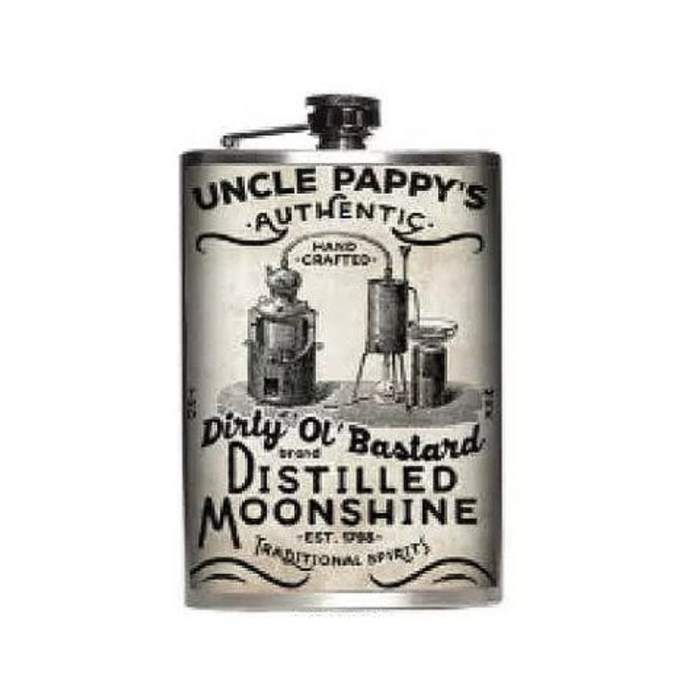 Totally Rad Dr Phelps Mind Tonic Stainless Steel 8 Oz Flask
