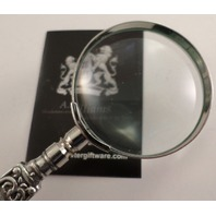 Pewter A.E. Williams British Celtic Knot Handheld Magnifying Glass #2100