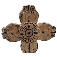 Montana West Spiritual Collection Cross Free Standing Table Decor New