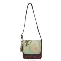 Santoro London Mirabelle  Small Flap Glitter Shoulder Bag All For Love