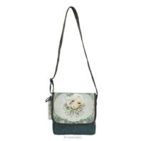 Santoro London Mirabelle  Small Flap Glitter Shoulder Bag Augustine Artwork