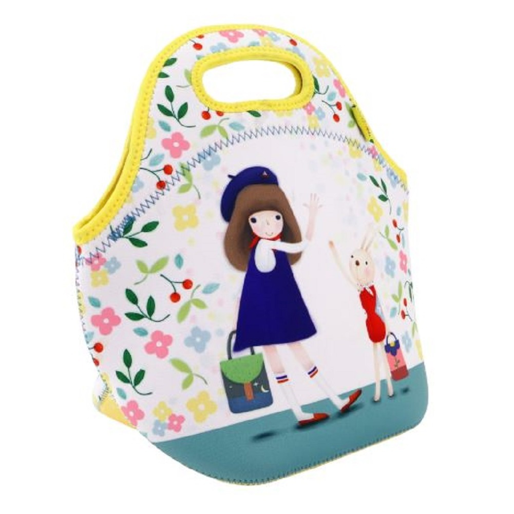 Santoro London Handbag Purse Neoprene Lunch Bag Bon Voyage Kori Kumi