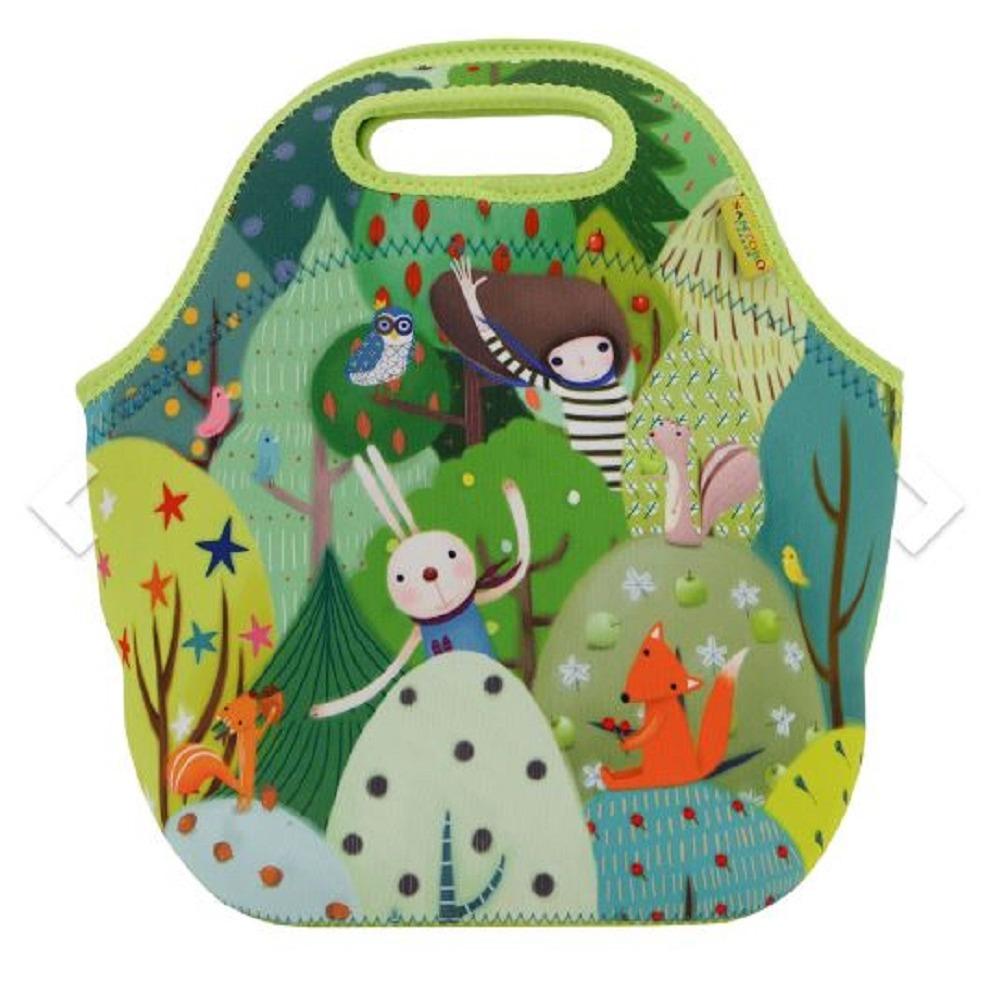 Santoro London Handbag Purse Neoprene Lunch Bag Toodle Pip Kori Kumi