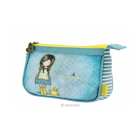 Santoro London Handbag Purse Gorjuss Clutch Purse Little Friend Girl and Mouse
