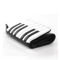 Piano Keyboard Small Vinyl Wallet Handbag Purse