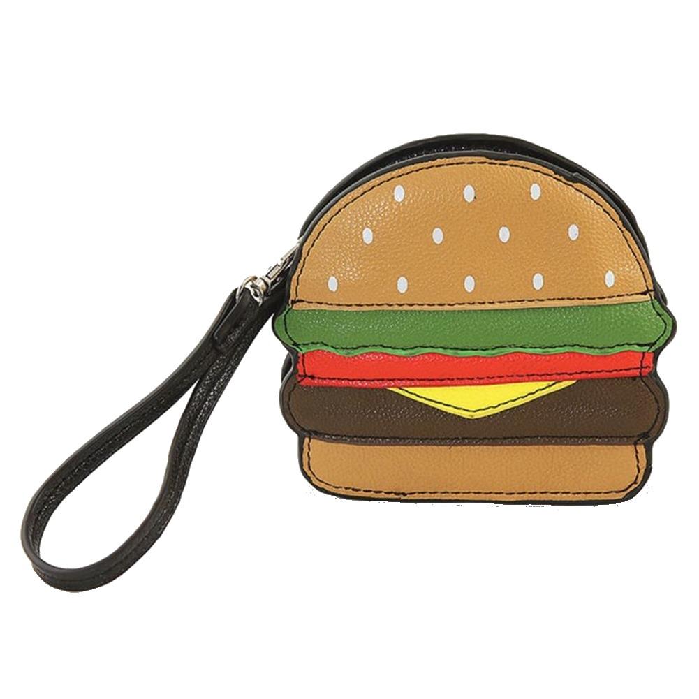 Comeco Purse Hamburger Coin Purse Handbag Bag Sleepyville Critters