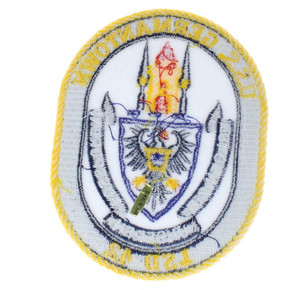 United States Navy USS Germantown LSD 42 Folgen Ste Uniform Patch