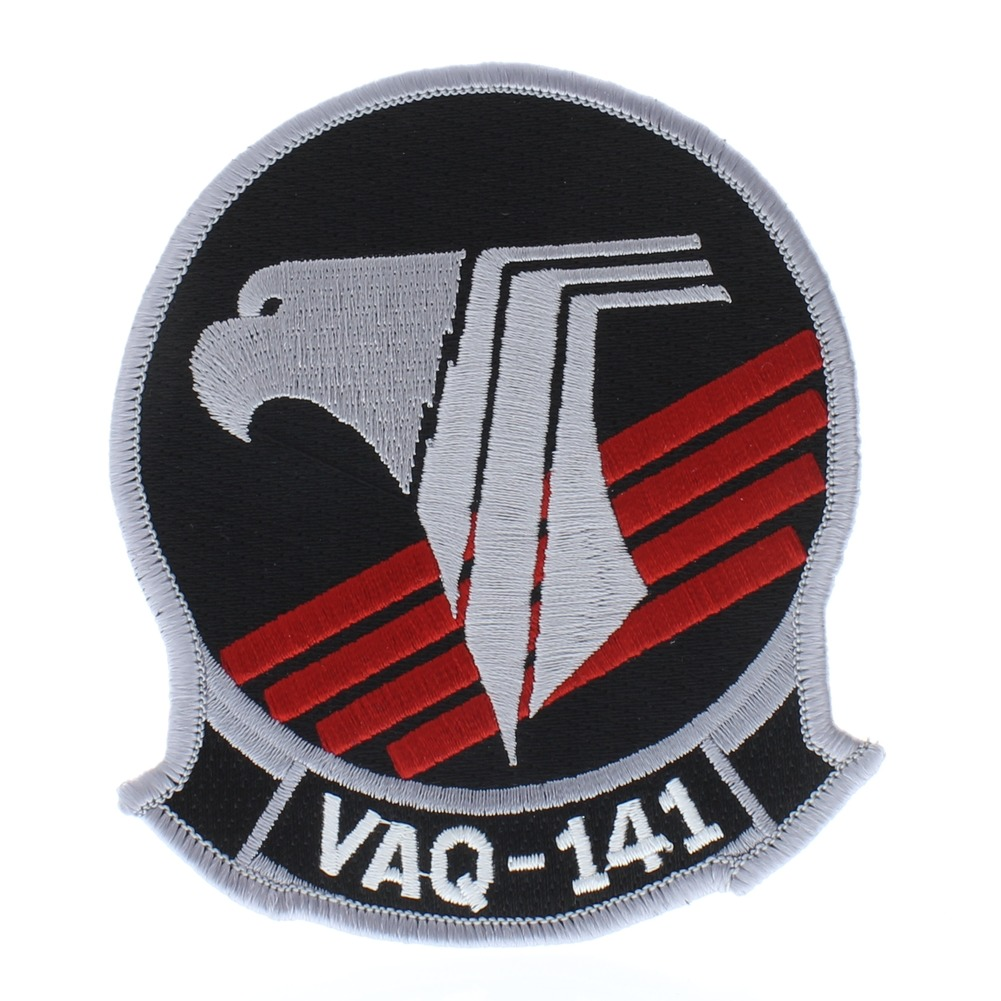 United States Navy Shadowhawks VAQ-141 Eagle Emblem Uniform Patch