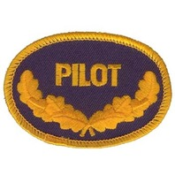 Pilot Wings US Navy Military Uniform Patch