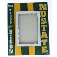 North Dakota State University (NDSU) Bison Licensed Wooden Photo Picture Frame
