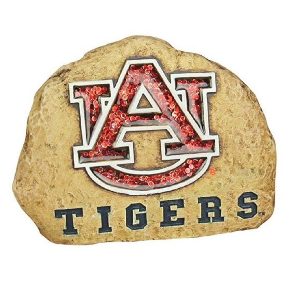 Auburn University Tigers Paper Weight Table Decor Collegiate Licensed Rock
