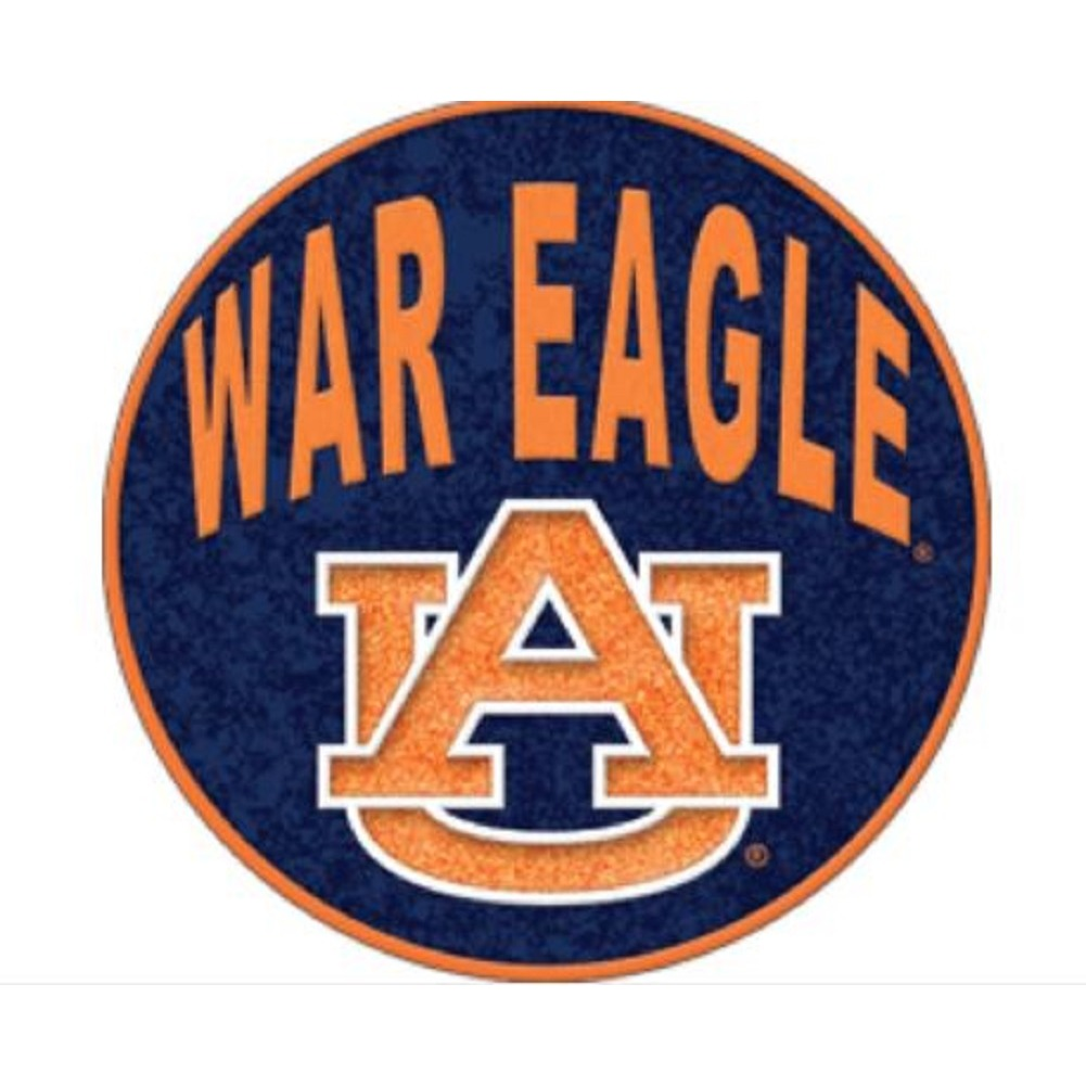 Auburn University War Eagle Garden Stepping Stone Decor Collegiate Licensed Rock