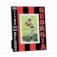 "Georgia Bulldogs Collegiate Licensed Wooden Photo Picture Frame 4"" X 6"""