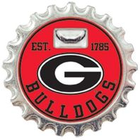 Georgia Bulldogs Magnetic Bottle Opener Licensed NCAA College