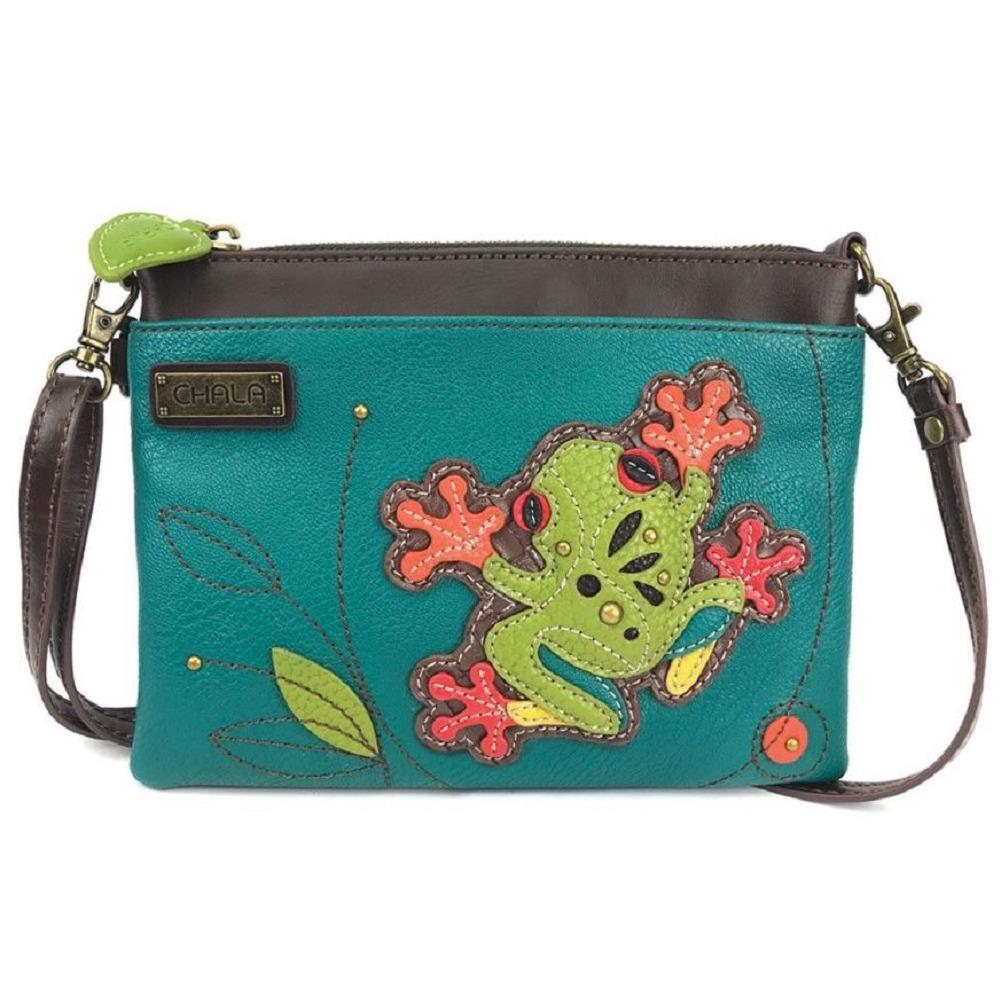 Charming Chala Tropical Tree Frog Mini Crossbody Bag Handbag Purse