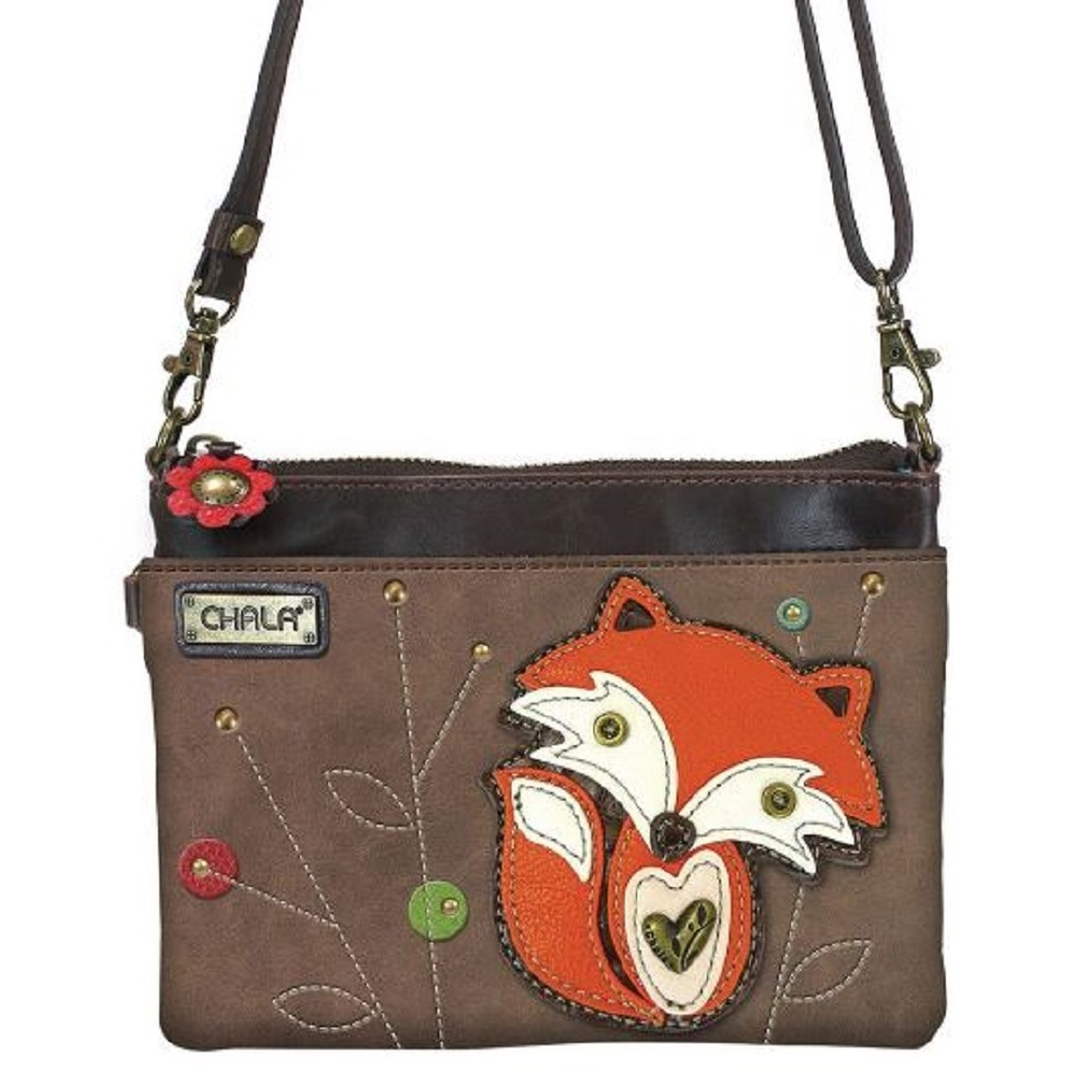 Charming Chala Foxy Fox Woodland Mini Crossbody Bag Handbag Purse