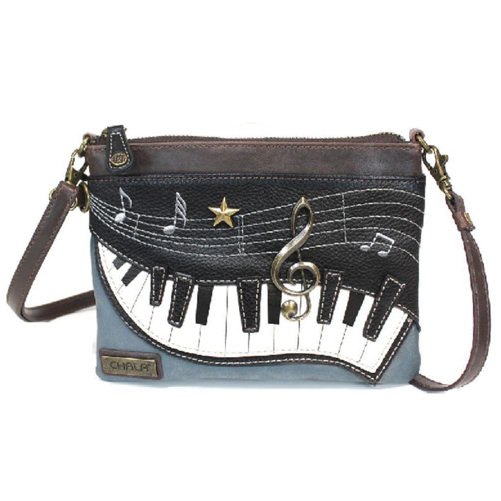 Charming Chala Musical Piano Keyboard Mini Crossbody Bag Handbag Purse