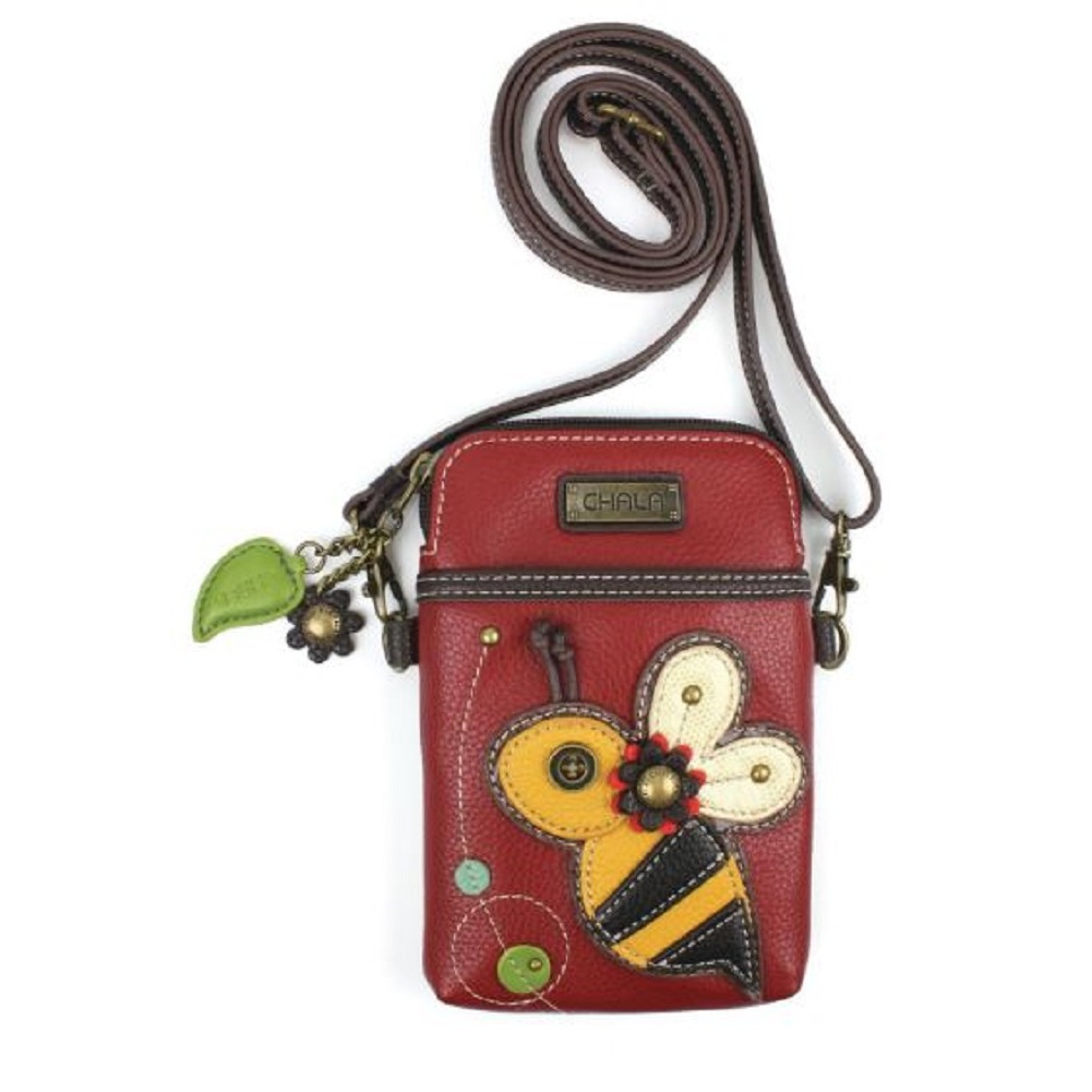 Charming Chala  Buzzing Bee Cell Phone Purse Mini Crossbody Bag