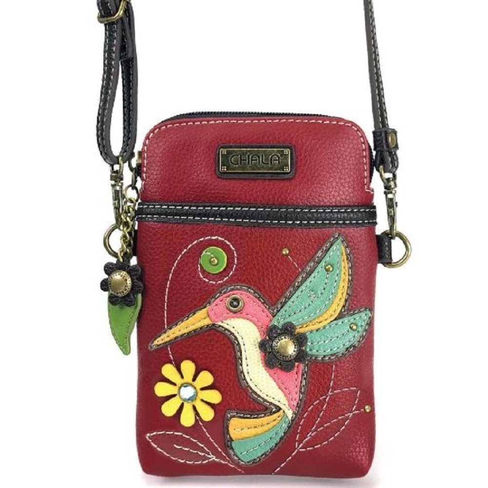 Charming Chala Humming Bird Cell Phone Purse Mini Crossbody Bag