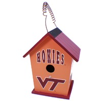 College Virginia Tech Hokies NCAA Licensed Birdhouse Spirit New