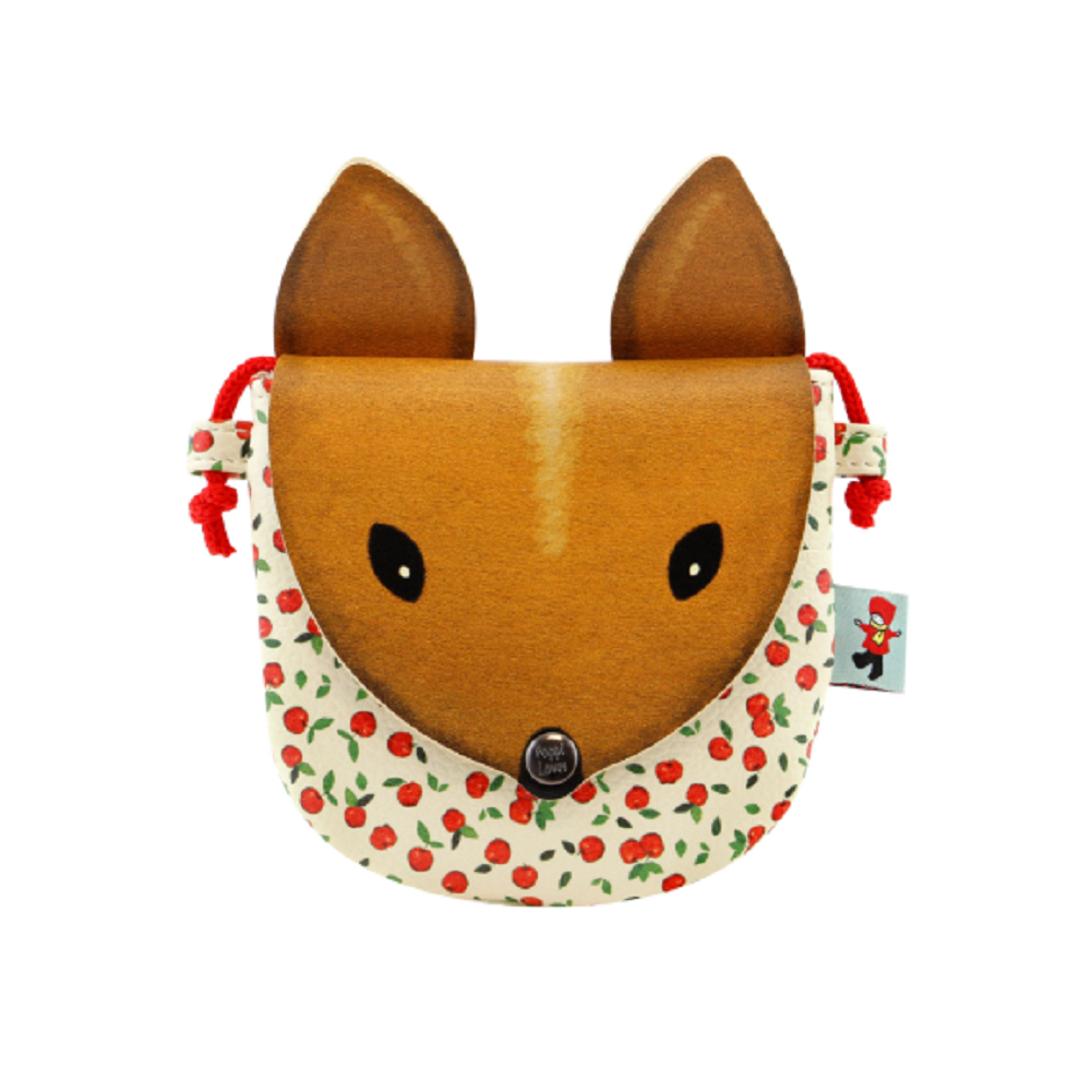 Santoro London Handbag Purse Poppi Loves Squirrel Small Animal Purse