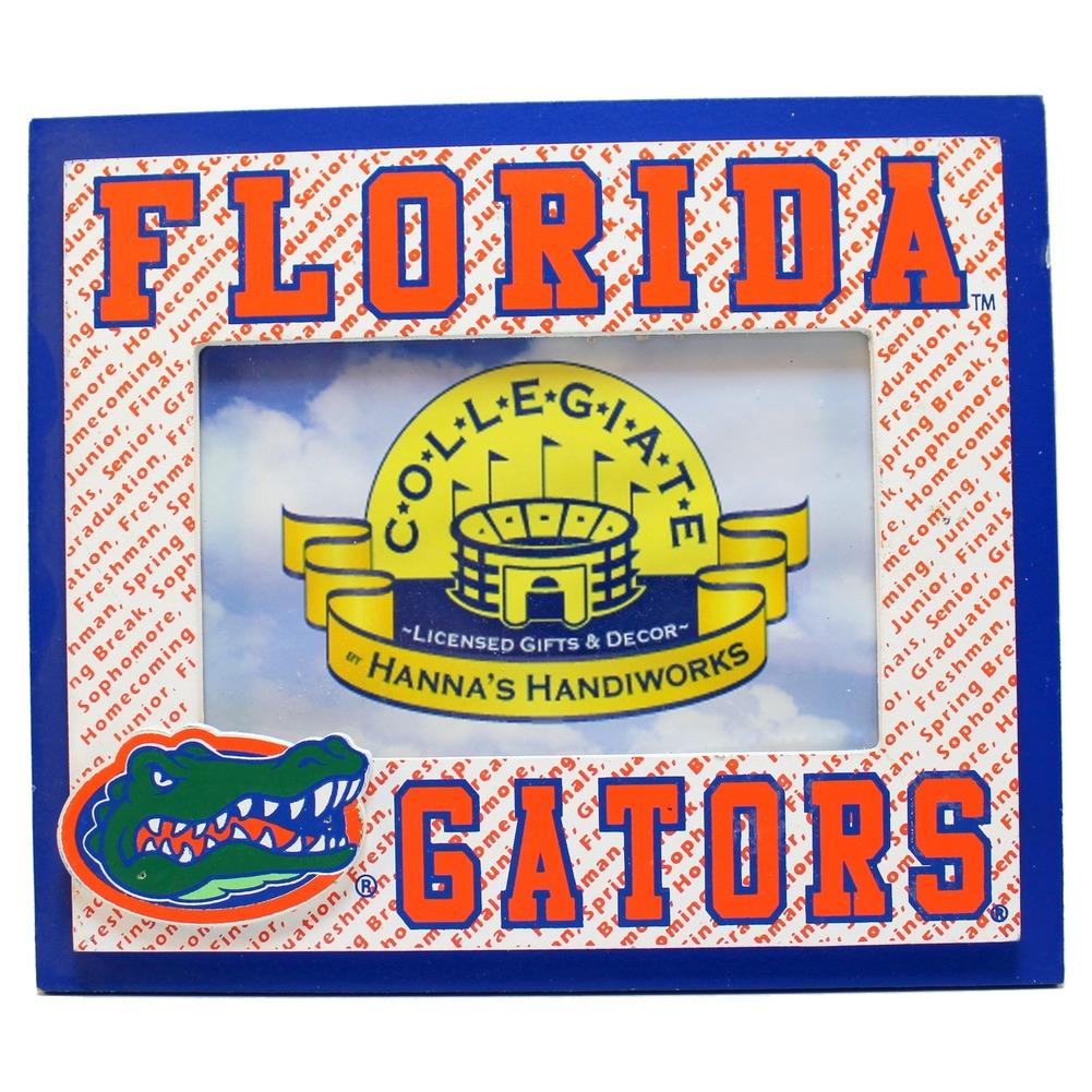 "Florida Gators Collegiate 4"" x 6"" Licensed Wooden Photo Picture Frame"