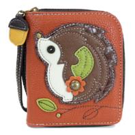 Charming Chala Hedgehog Purse Wallet Credit Cards Coins Wristlet