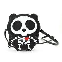 Skeleton with a Heart Cross body Shoulder Bag Handbag Purse