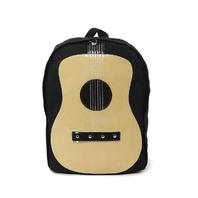 Far Nine Acoustic Musically Inspired Guitar Canvas Backpack Sachel Bag