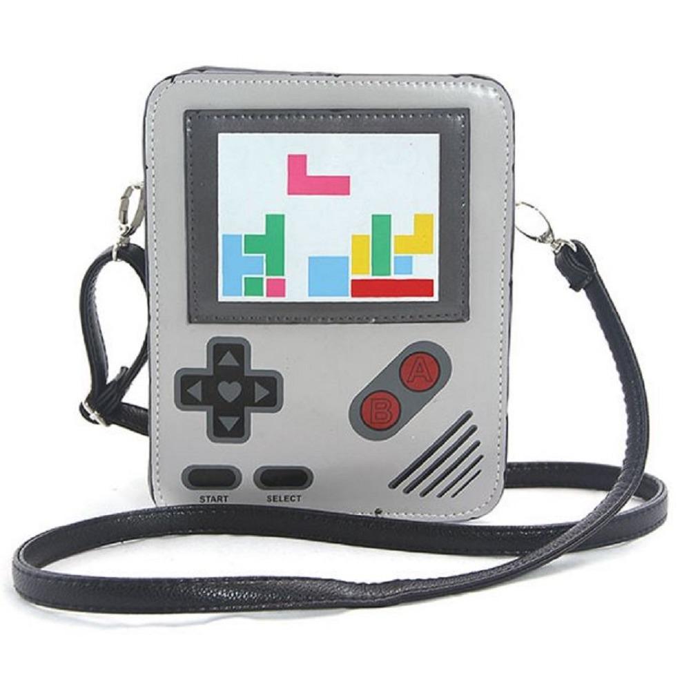 Sleepyville Critters Handheld Style Video Game Body Shoulder Bag Handbag Purse