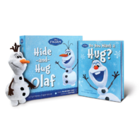 Hide And Hug Olaf Disney Frozen Plush Toy And Book Set Interactive Experience
