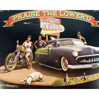 Praise The Lowered Vintage Car Bike Motorcycle Funny Retro Metal Tin Sign New