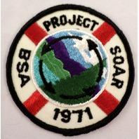 Uniform Patch Boy Scout Bsa Project Soar 1971 Life Preserver  #Bsbk