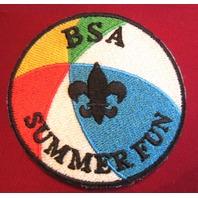 Bsa Boy Scout Uniform Patch Bsa Summer Fun Beach Ball