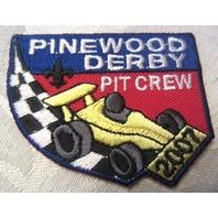 Bsa Boy Scout Uniform Patch Pinewood Derby Race Pit Crew Award
