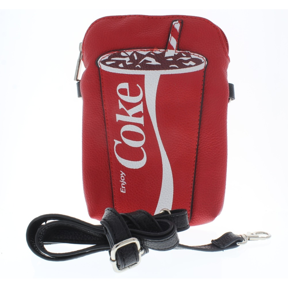 Enjoy Coca Cola Cup Design Cross Body Handbag Purse