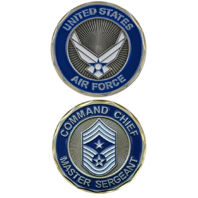 United States Airforce Command Chief Master Sargeant Military Challenge Coin