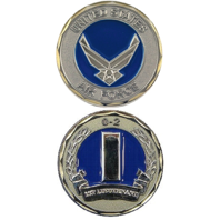 United States Air Force 1st LT 0-2 Military Challenge Coin