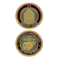 United States Marine Corps Sergeant Major SGT E-9 Military Challenge Coin