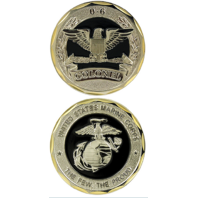 United States Marine Corps Colonel 0-6 Military Challenge Coin