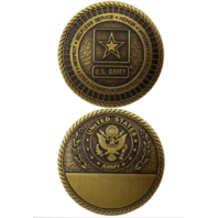 United States US Army Star Logo Military Challenge Coin