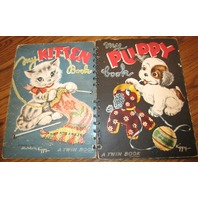 My Puppy Book, My Kitten Book, Illustrated By Kippy, A Twin Book, Nice Flip Book