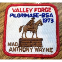 Bsa Boy Scout Uniform Scouting Valley Forge Pilgrimage-Bsa 73 Mad Anthony Wayne
