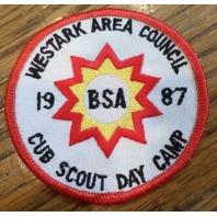 Bsa Boy Scout Uniform Patch Bsa Westark Area Council 1987 Cub Scout Day Camp
